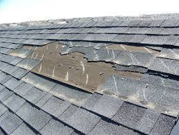 damaged roof inspections